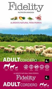 Fidelity Adult Medium Cordero 4kg