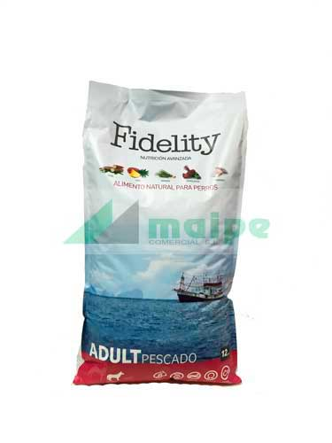 Fidelity Adult Medium Pescado 12kg