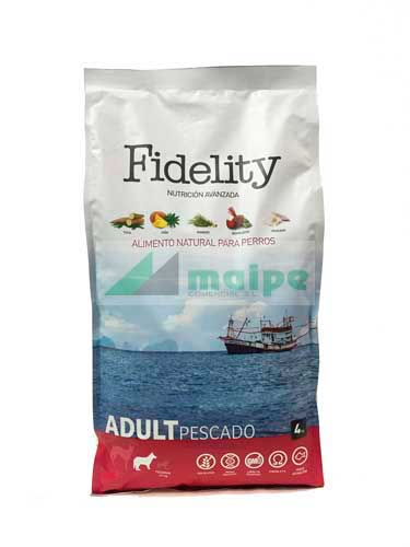Fidelity Adult Medium Pescado 4kg