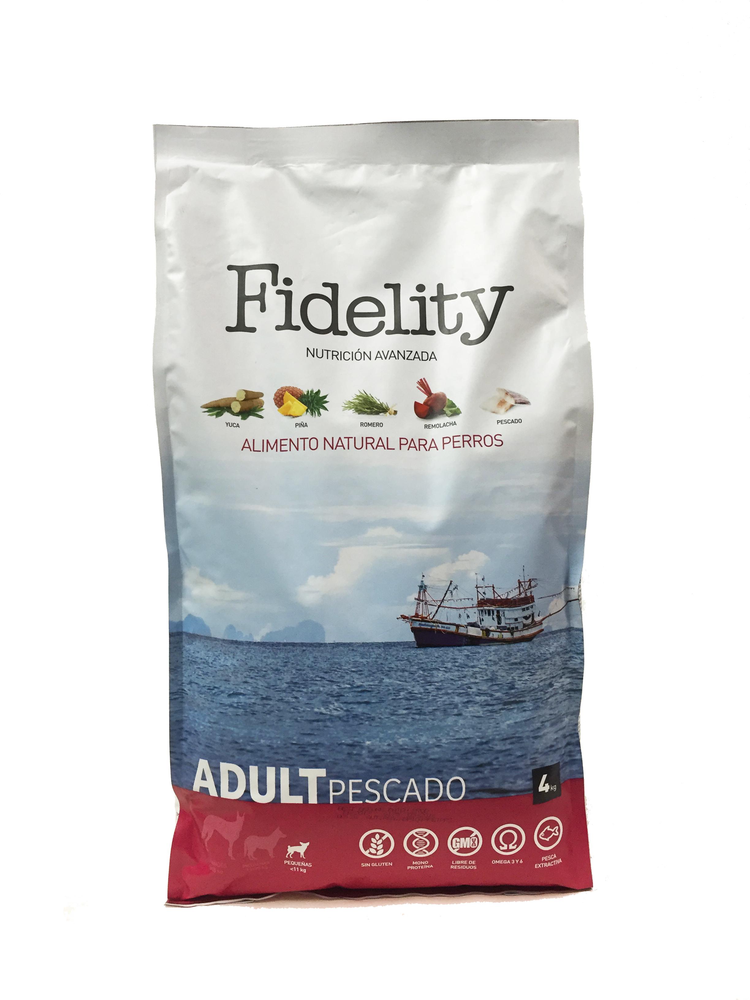 Fidelity Adult Mini Pescado 4kg