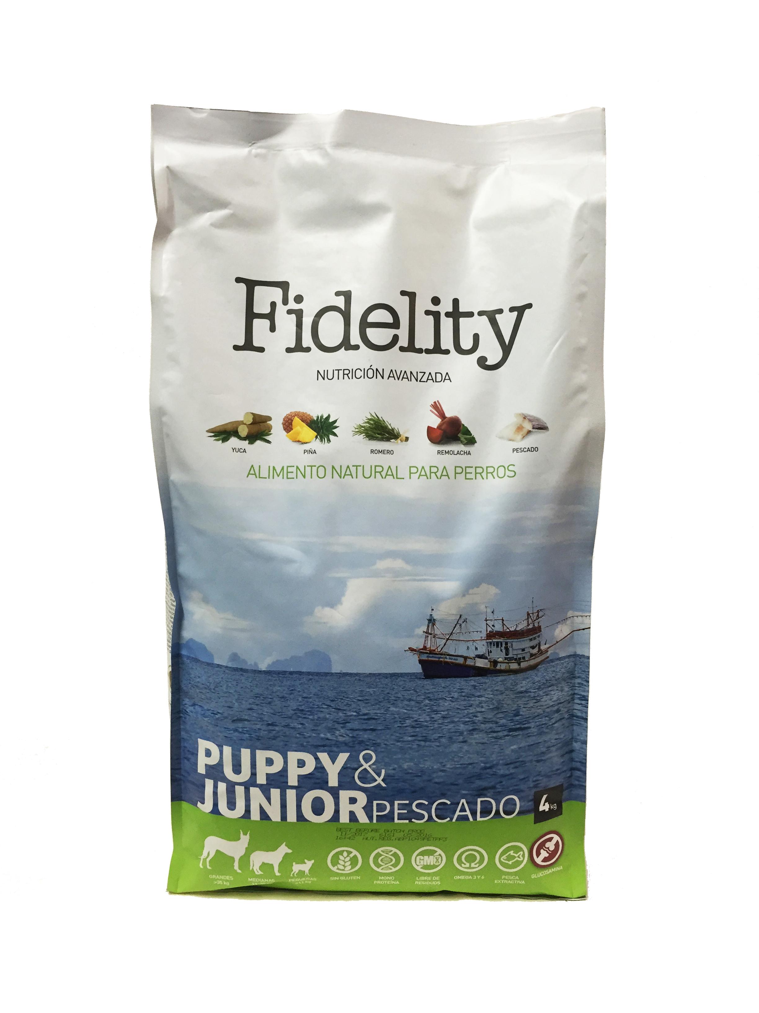 Fidelity Puppy Pescado 4kg