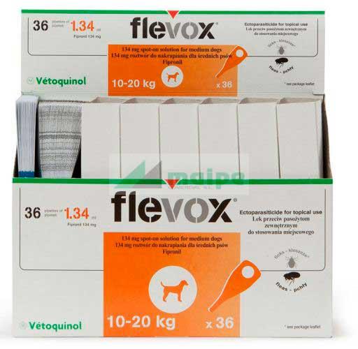 FLEVOX PERRO 10-20KG 36 P