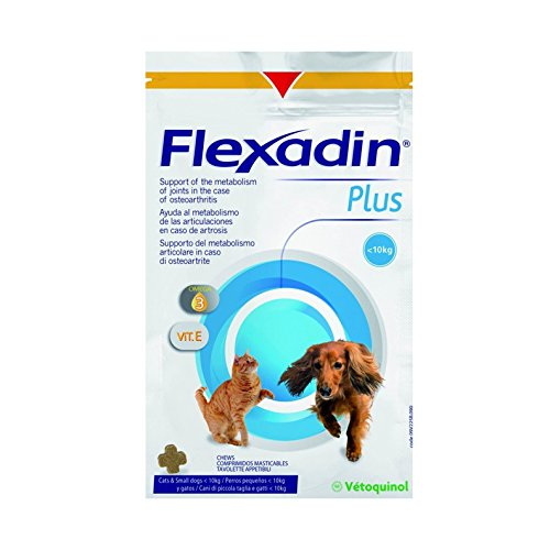 FLEXADIN PLUS MINI < 10kg 30 Comprimidos Masticable