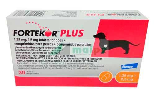 FORTEKOR PLUS 2.5mg - 30 Comprimidos (naranja)