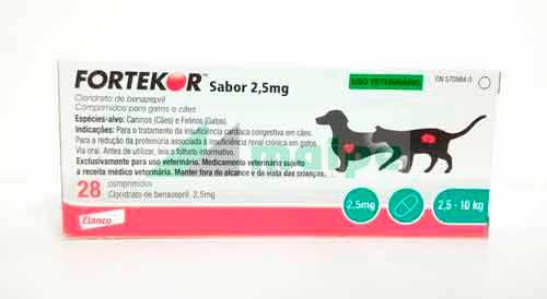 FORTEKOR Sabor 2.5 (28 Comprimidos)