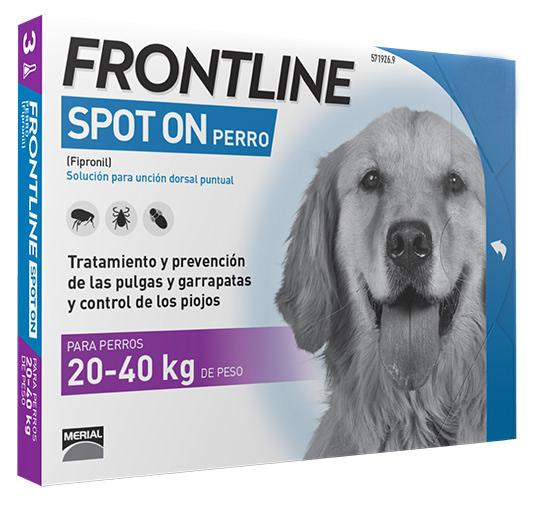 FRONTLINE SPOT ON P.20-40KG 6 PIP.