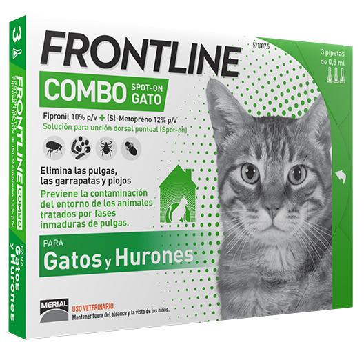 FRONTLINE COMBO GATOS 3 P.
