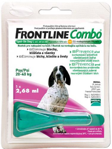 FRONTLINE COMBO MONOPIPETA 20-40kg