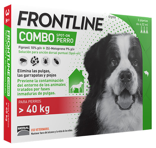 FRONTLINE COMBO  PERROS XL  3 P.