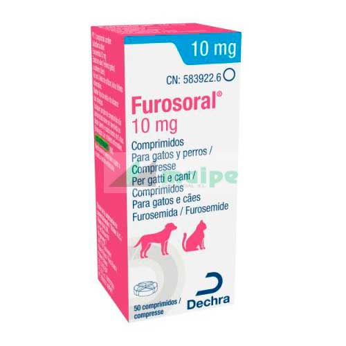FUROSORAL 10mg (50 Comprimidos)