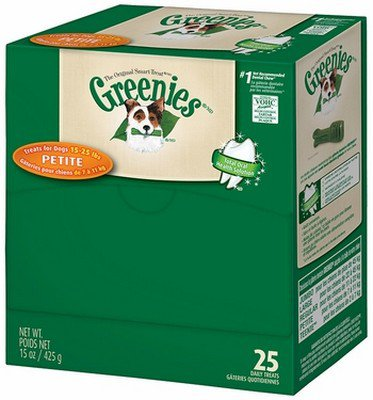 GREENIES Individual PETITE Caja de 25 unidades