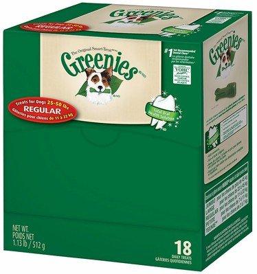 GREENIES Individual REGULAR Caja de 18 unidades