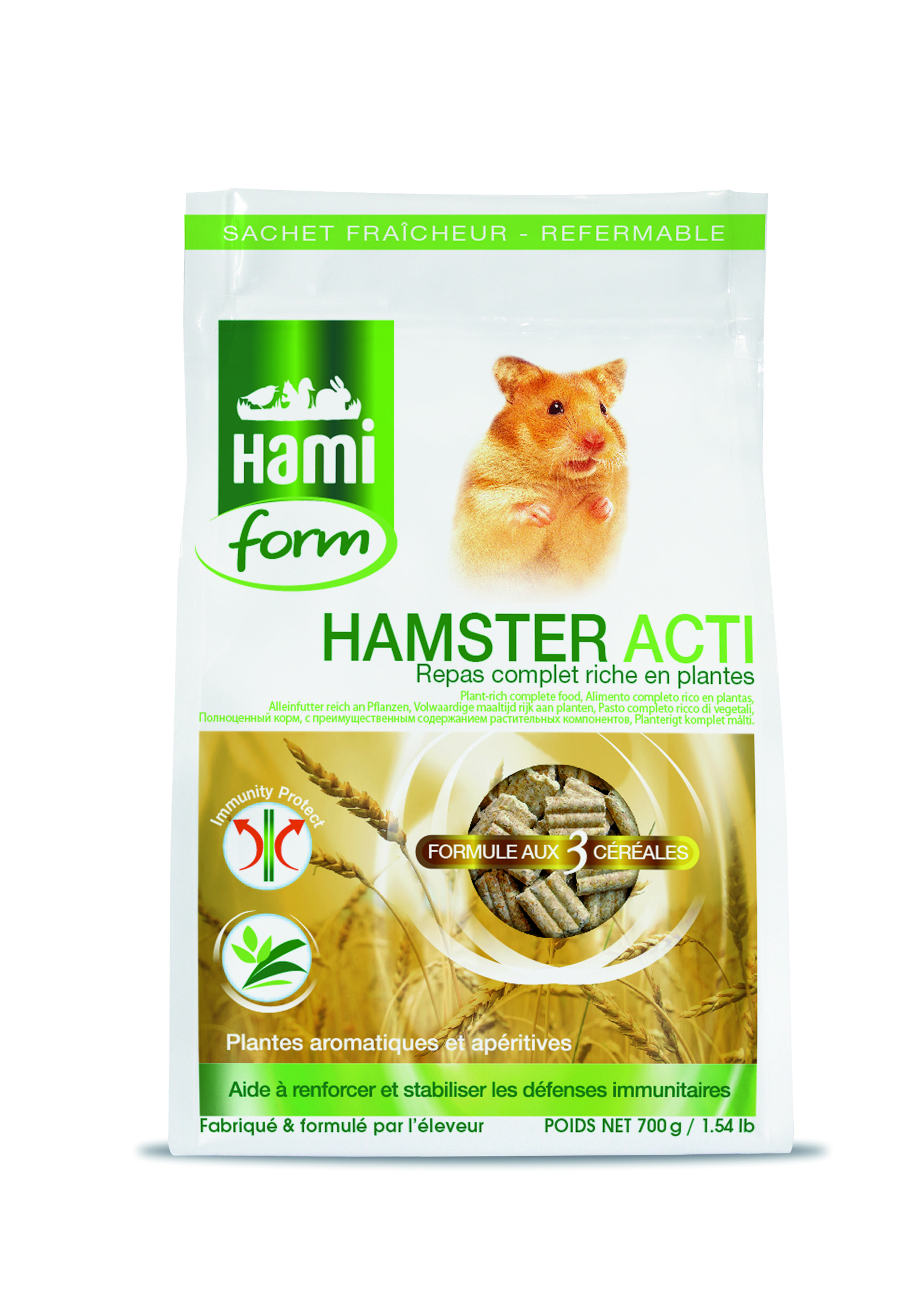 HF COMPLET HAMSTER ACTI 700g