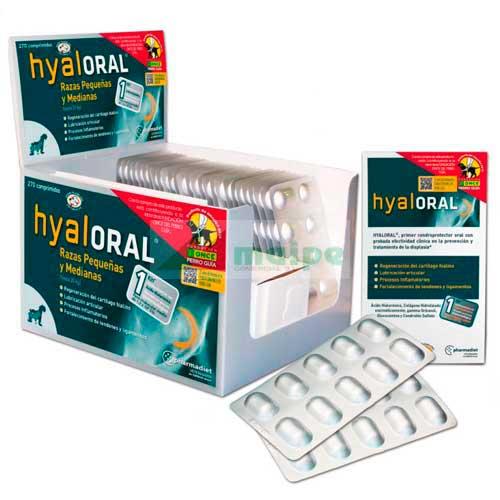 HYALORAL Razas PEQUEÑAS Y MEDIANAS 270 Comprimidos