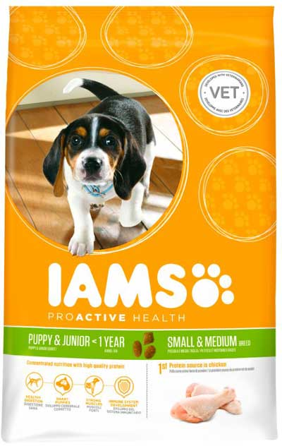 IAMS PERRO PUPPY SMALL/MEDIUM 12kg