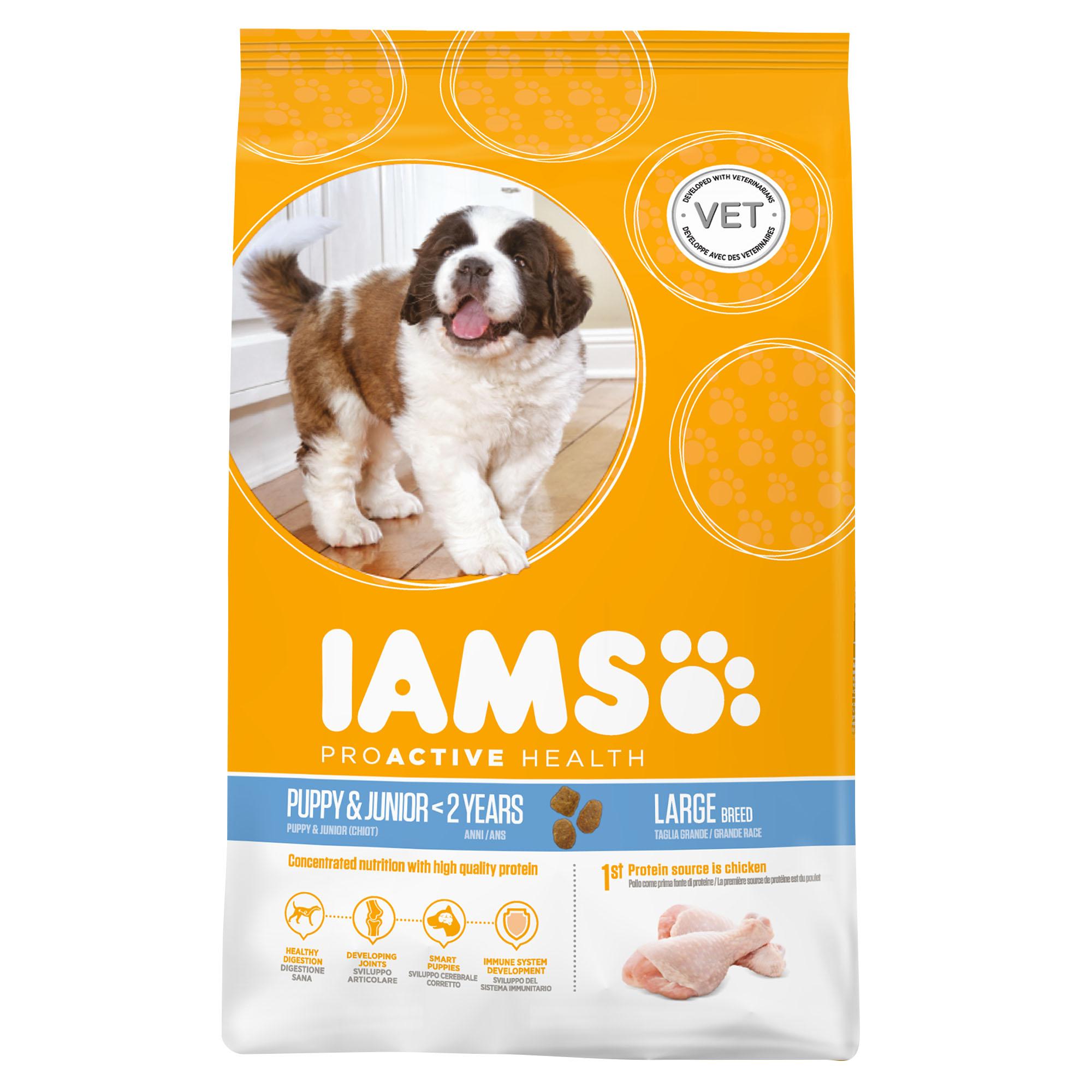 IAMS PERRO PUPPY LARGE 12kg