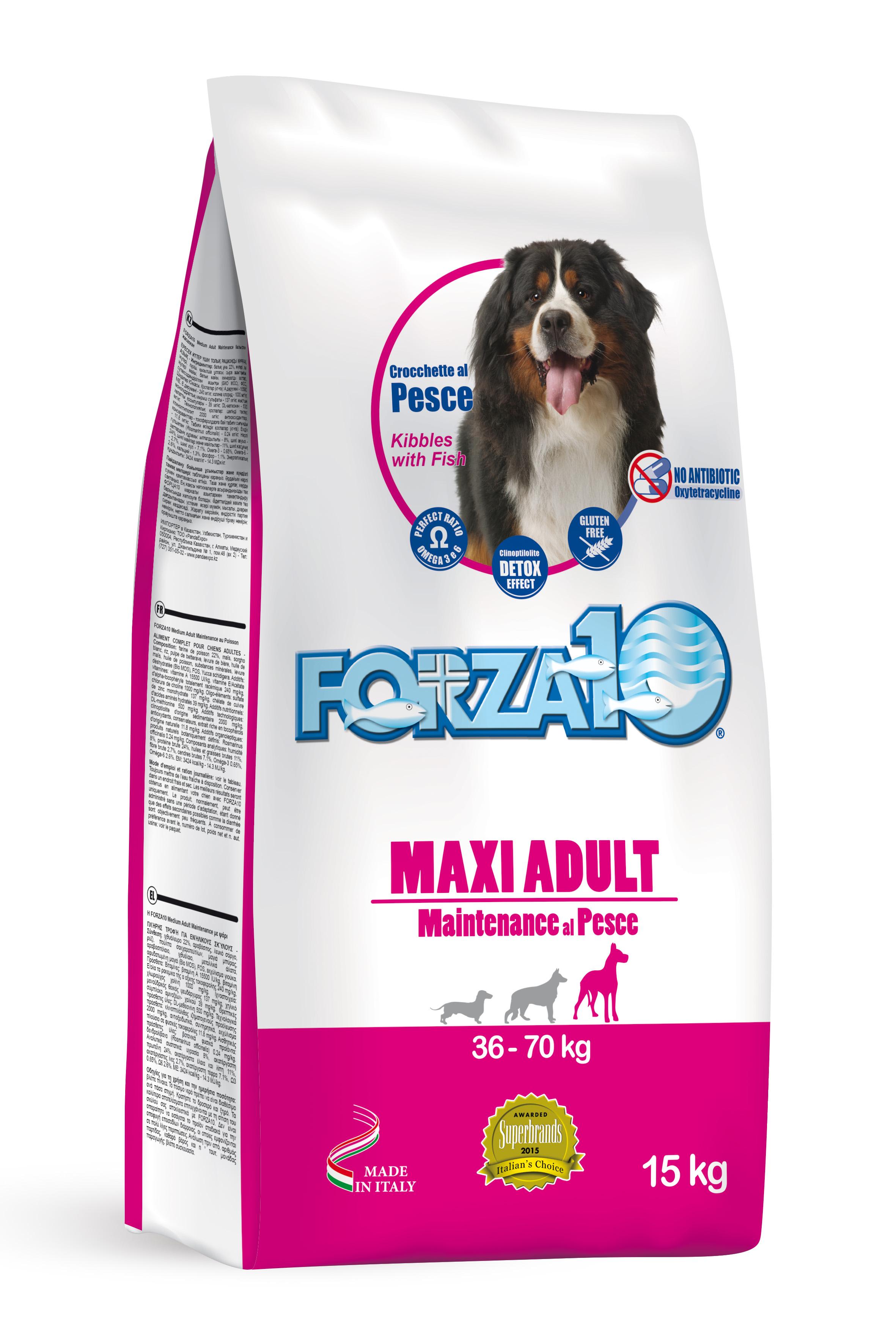 FORZA10 MAXI Mantenimiento PERRO 15kg (PROMO)