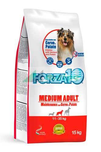 FORZA10 MEDIUM Mantenimiento Ciervo y Patata 15kg (PROMO)