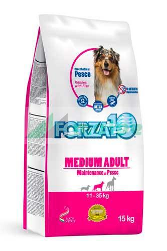 FORZA10 MEDIUM Mantenimiento PERRO 15kg (PROMO)