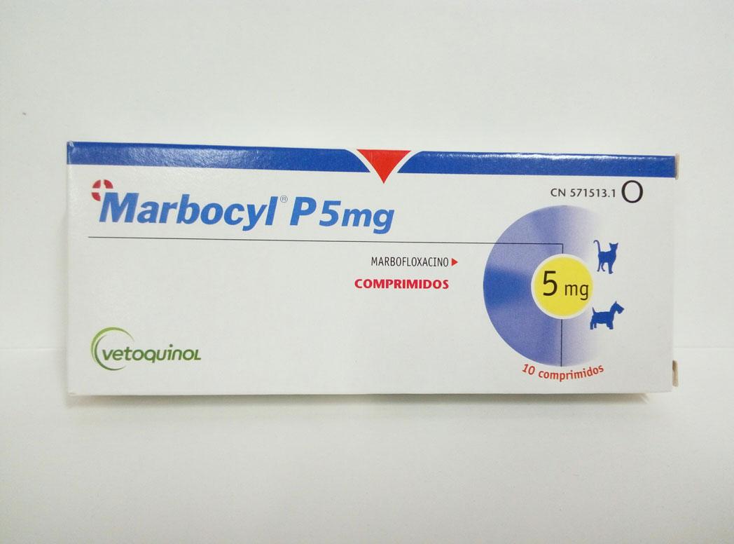 MARBOCYL P5mg 10 Comprimidos