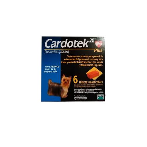 CARDOTEK-30 PLUS  68 MCGS-AZUL (HASTA 11kg)