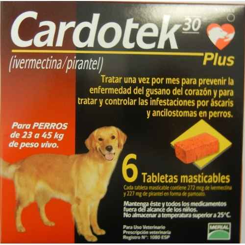 CARDOTEK-30 PLUS  272 MCG-MARRON (23-45kg)