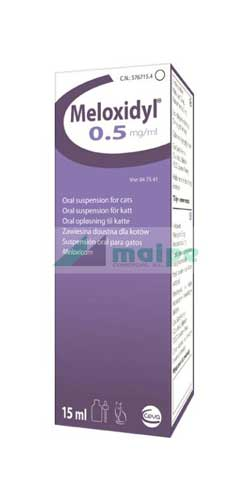Meloxidyl GATO Suspensión Oral 0.5mg - 15ml