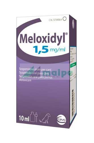 Meloxidyl Suspensión Oral 1.5mg - 10ml