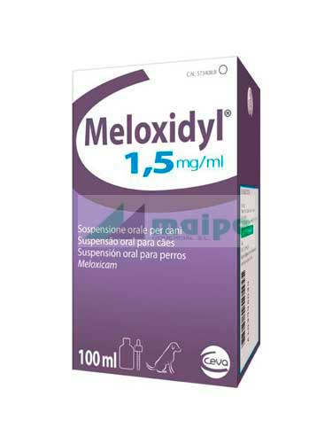 Meloxidyl Suspensión Oral 1.5mg - 100ml