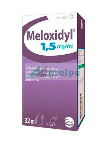 Meloxidyl Suspensión Oral 1.5mg - 32ml