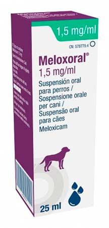 MELOXORAL PERROS 25 CC