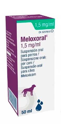 MELOXORAL PERROS 50 CC