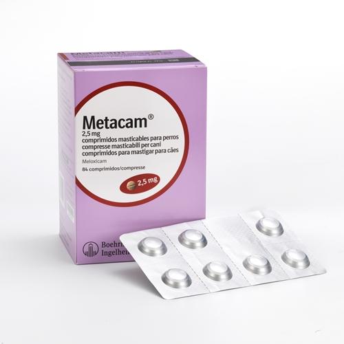 Metacam Comprimidos 2.5mg (84 Comprimidos)
