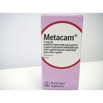 Metacam PEERO y GATO Solución inyectable 5mg - 20ml