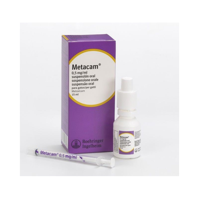 Metacam GATO Suspensión oral 0.5mg - 15ml