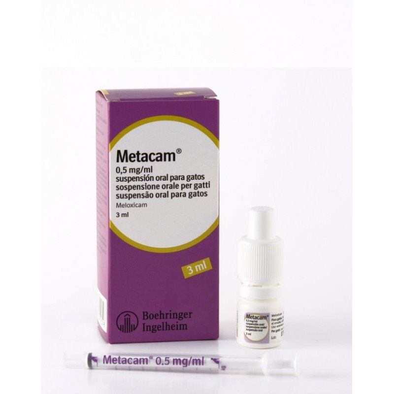 Metacam GATO Suspensión oral 0.5mg - 3ml