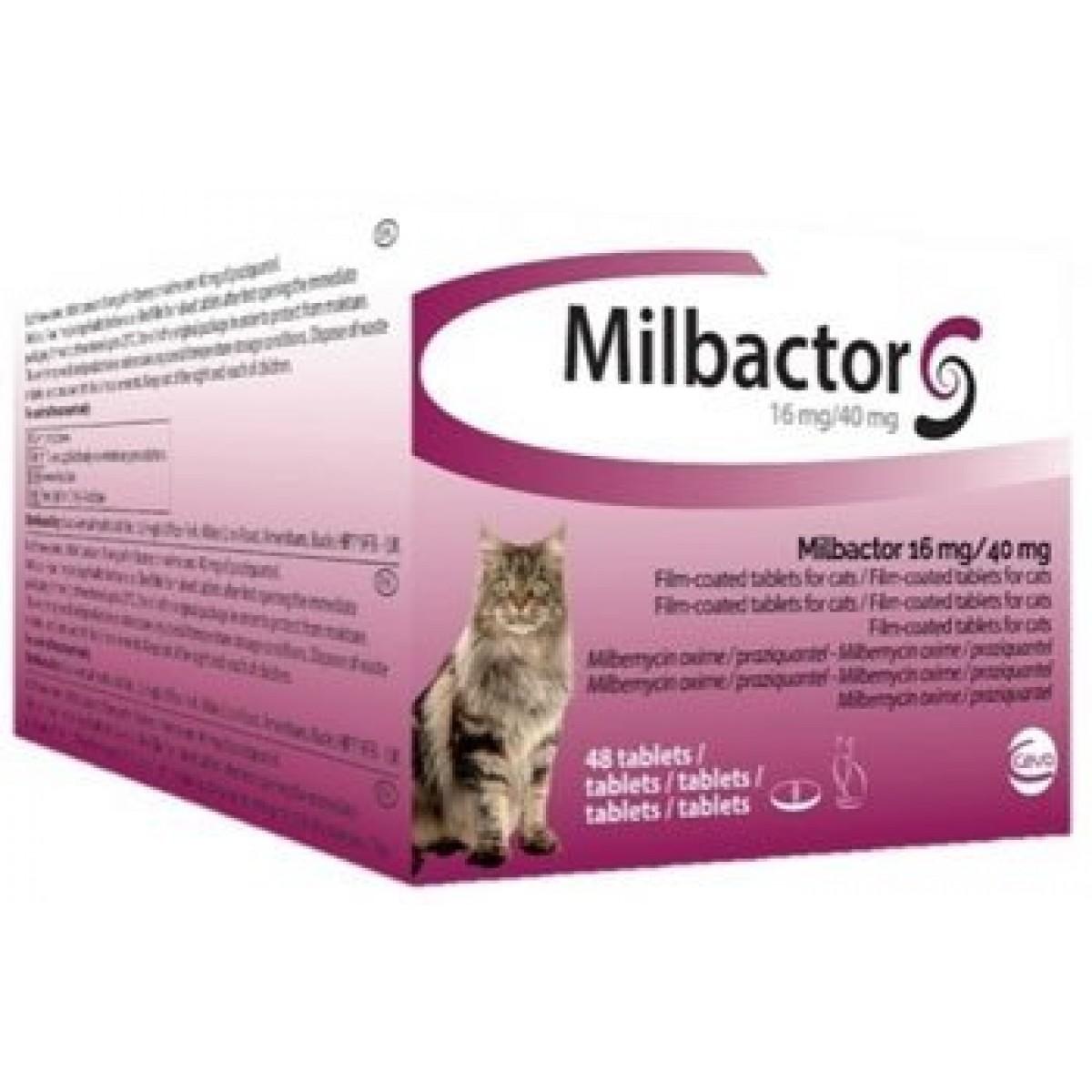 Milbactor GATO +2kg (4 Comprimidos)