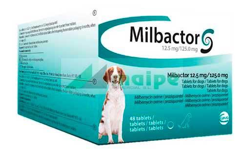 Milbactor PERRO +5kg (48 Comprimidos)