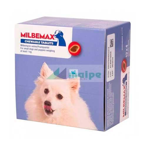 MILBEMAX Masticable 2.5 - 48 Comprimidos (Perro Pequeño)