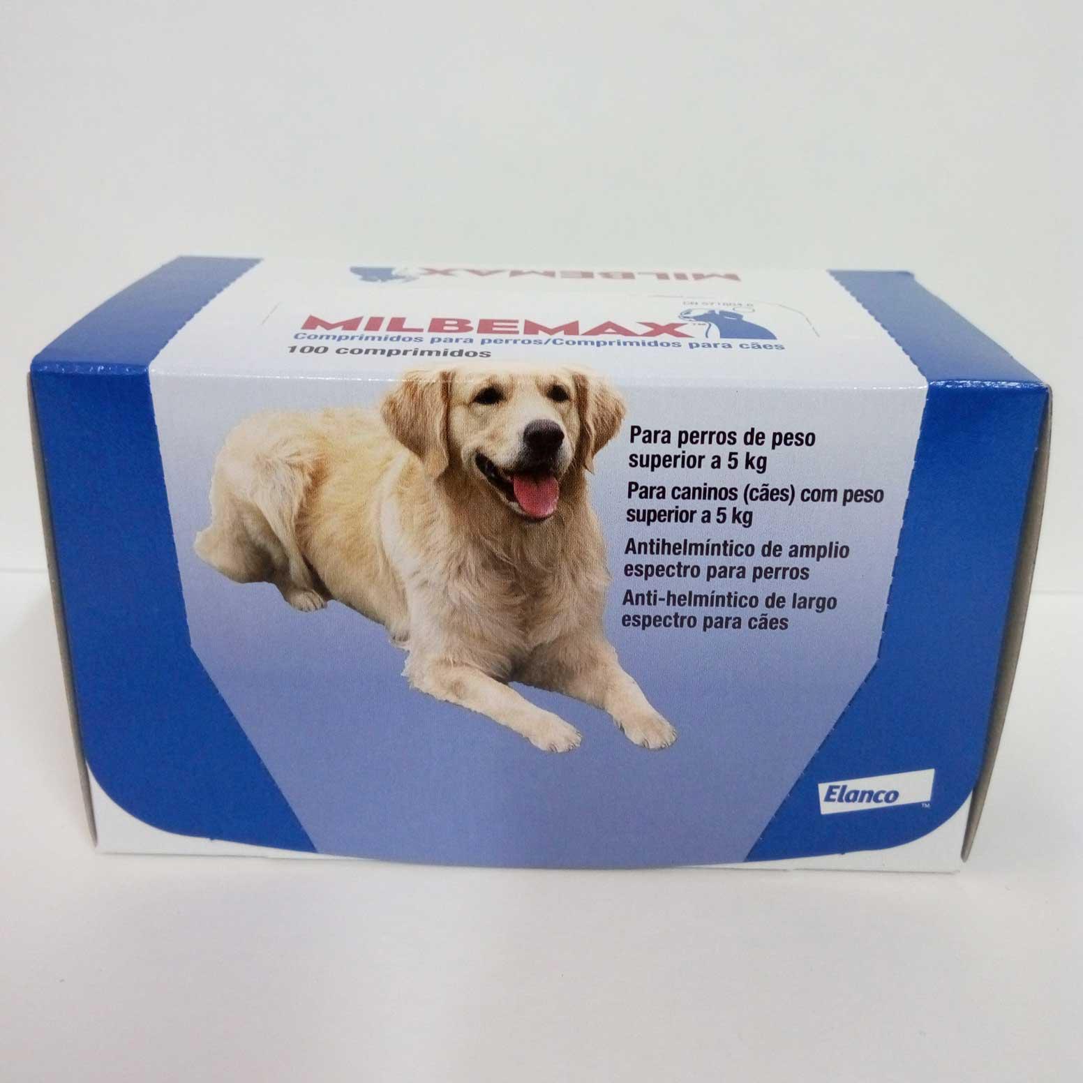MILBEMAX Sabor 12.5 - 100 Comprimidos (Perro Grande)