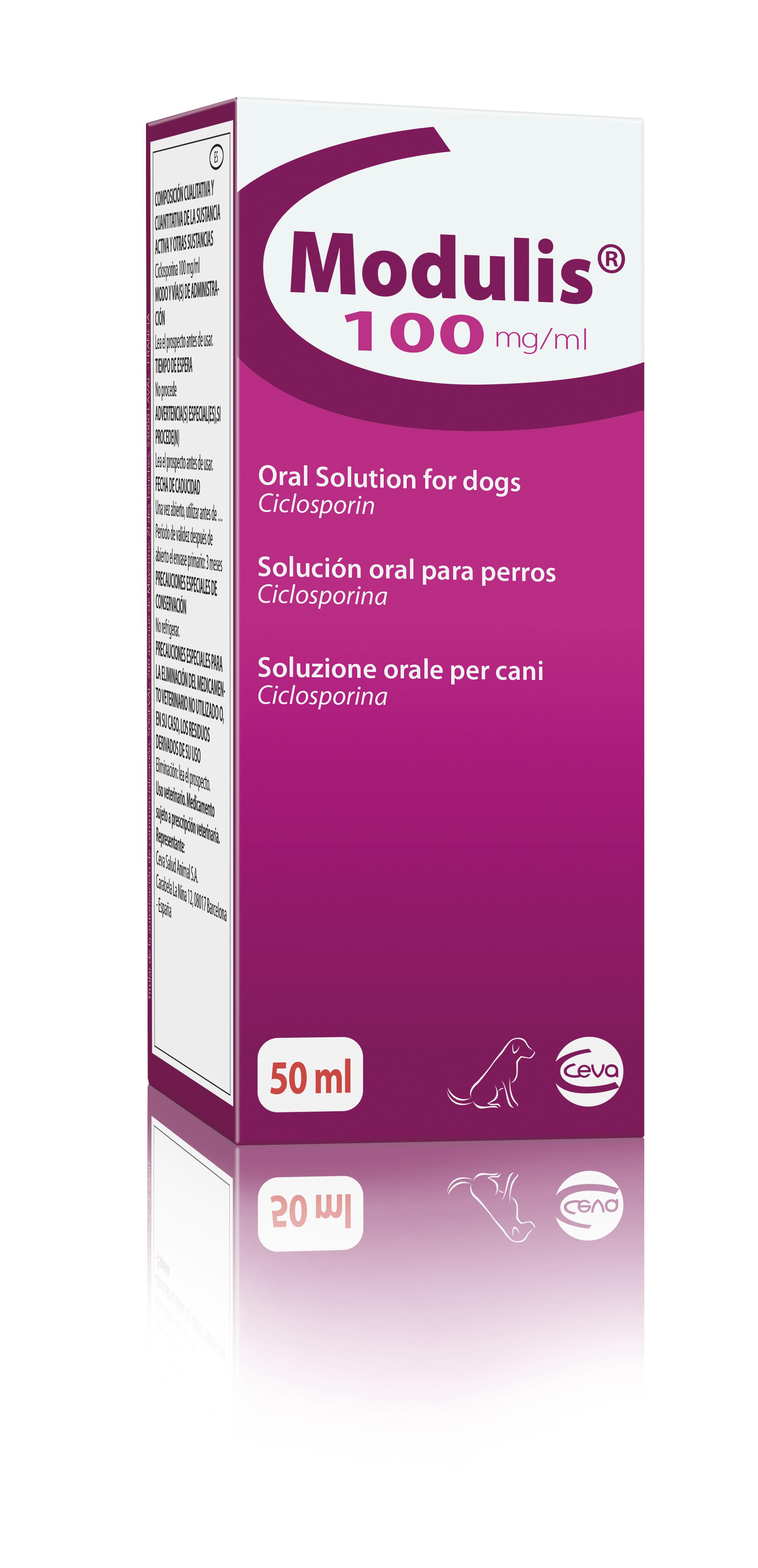 Modulis Solución Oral 100mg/ml - 50ml