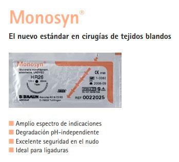 MONOSYN VIOLET 0  HS26S 70 CM 12 UDS (G0022243)