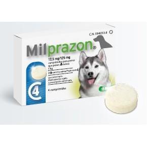 MILPRAZON ADULTO PERRO 4 COMP