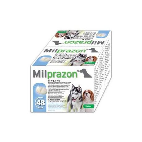 MILPRAZON PUPPY SMALL PERRO 48 COMP