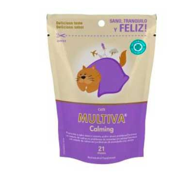 MULTIVA CALMING FOR CATS 21 CHEWS