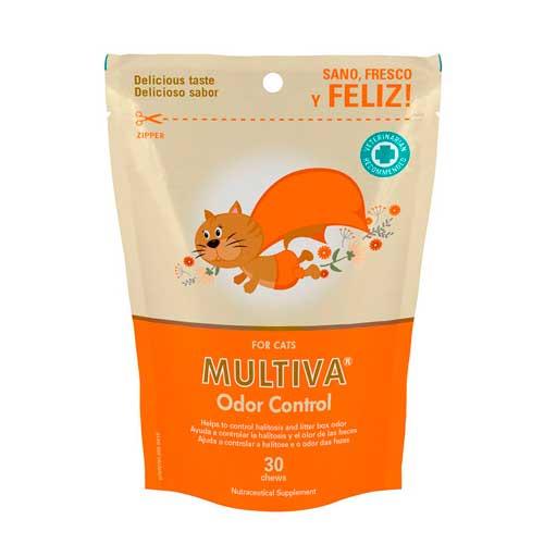 MULTIVA ODOR CONTROL for cats 30 CHEWS