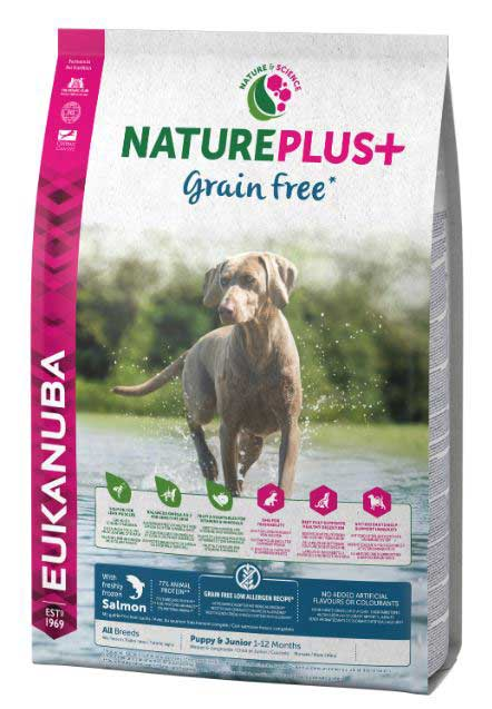 NATURE PUPPY GRAIN FREE SALMON 2.3 KG