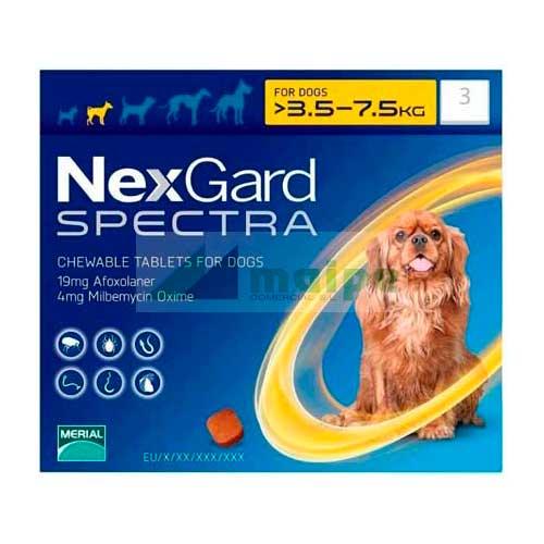 NexGard SPECTRA 3.5-7.5Kg