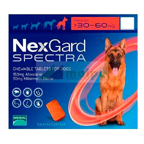 NexGard SPECTRA 30-60Kg