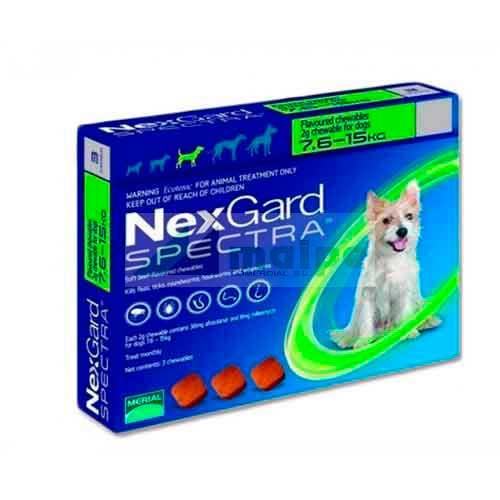 NexGard SPECTRA 7.5-15Kg